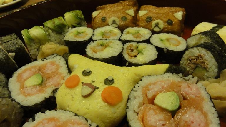 Hvordan ruller sushi