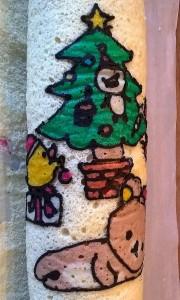 Christmas Relakuma roll cake 3