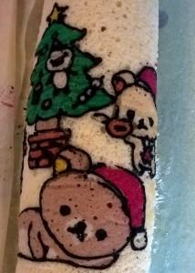 Christmas Relakuma roll cake 4